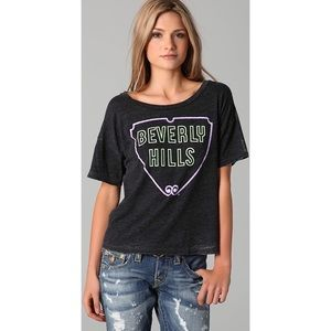 Chaser Beverly Hills Graphic Burnout Tee